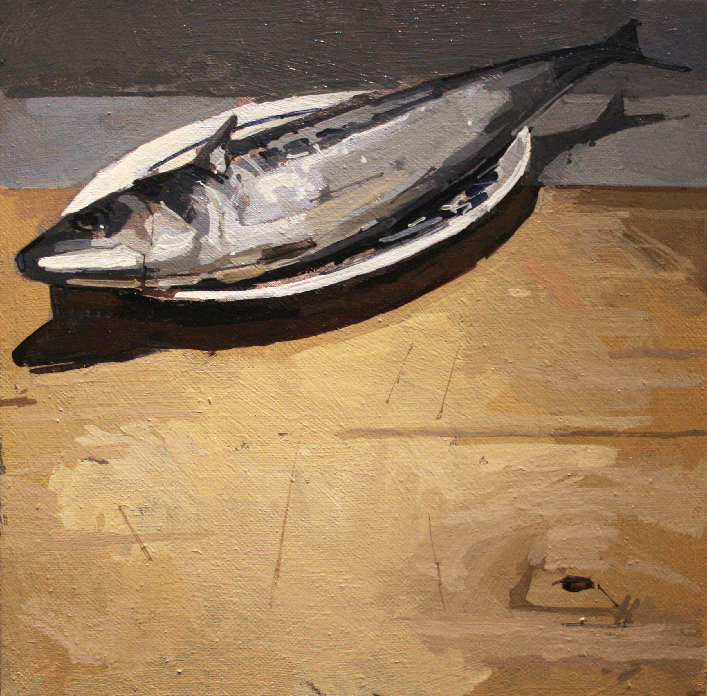 joseph ryan artist painter art mackerel fish still life