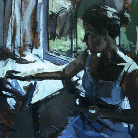 joseph joe ryan artist drawing contemporary painting figurative figure art