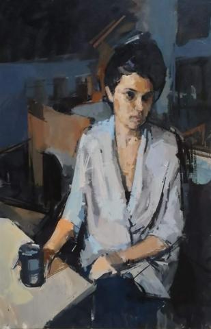 joseph joe ryan artist drawing contemporary painting portrait art